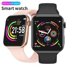 2020 Smart Watch TOUCHSCREEN Call Fitness Heart Tracker Bluetooth Android iOS UK