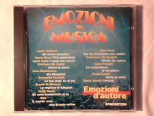 CD Emozioni d'autore LUCIO BATTISTI VASCO ROSSI LUCIO DALLA ANTONELLO VENDITTI