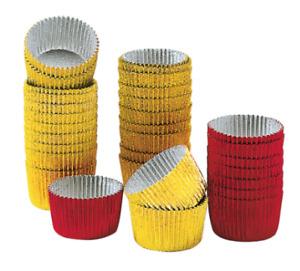 Kaiser Deko ALU-Pralinenförmchen farbig 30 Stück