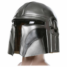 Star Wars: The Mandalorian Cosplay Latex Maske Helm Prop Halloween Karneval