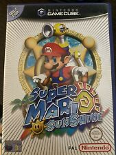Super Mario Sunshine Nintendo Game Cube