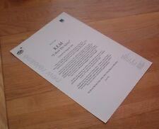 R.E.M. E Bow the Letter  1 page PRESS RELEASE 1996