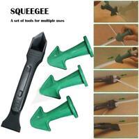 Caulk4Pcs/Set Nozzle and Scraper Reusable Caulk Remover Sealing Caulking Tool