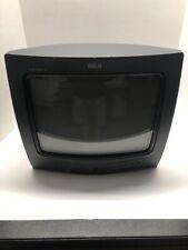 "RCA E13208GY XL 100 Commercial Skip 13"" CRT TV Retro Video Gaming NO REMOTE 1996"