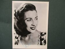 More details for vera lynn, autographed photo circa 1950