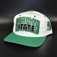Michigan State Spartans Twins Enterprise Vintage 90's Snapback Cap Hat - NWT