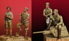 1/35 Resin WWII Italian Soldiers 4 Set Unpainted Unassembled