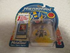Mattel Megaman NT Warrior MetalSoul Figure with Thunder Ball Battle Chip