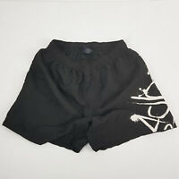 BADBOY Black White Graffiti Boys Men Boardshorts Surf Shorts Drawstring Pocket