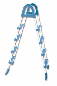 Intex Poolleiter Pool 120 cm cm 4 Stufen Hochbeckenleiter Aufstellleiter Leiter