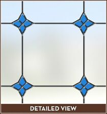 Monterey Bay Stained Glass Frosted Privacy Indow Flim (24in X 48in) New