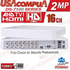 Hikvision 16 CH DVR DS-7116HGHI-F1 AHD HD-TVI H.264 Turbo HD ORIGINAL