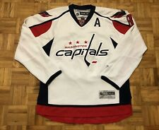 Alexander Ovechkin Washington Capitals Reebok Size Large Jersey *