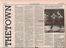 AC/DC Leeds Polytechnic 1978 concert review UK ARTICLE / clipping
