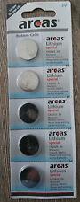 5 Stk Knopfzellen Uhrenbatterien Knopf Zellen Arcas CR2025 DL2025 E-CR2025 5004L