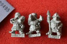 Citadel C22 Imperial Dwarf Bolt Thrower Loader Operator Crew 3x Metal Dwarves GW
