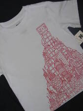 NEW DC SHOES BOYS SHORT SLEEVE T-SHIRT WHITE SMALL 5