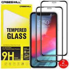 Для Iphone 11 Pro X Xr Xs макс caseswill премиум Закаленное стекло протектор экрана
