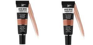 IT Cosmetics Bye Bye Under Eye Waterproof Concealer Size 0.40 oz Deep - NIB