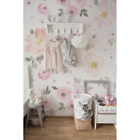 Removable Wallpaper decor Vintage Floral nursery Flower Pattern wall covering