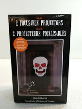 New! 2 Focusable SKULL Projectors
