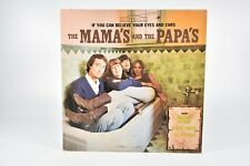 The Mama's And The Papa's Dunhill Records If You Can Believe Your Eyes 33 Vinyl