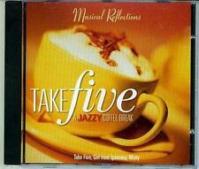 INSTRUMENTAL HITS, TAKE FIVE JAZZ MUSIC CD,CLASSICAL BACKGROUND JAZZ, NEW