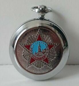 MOLNIJA montre gousset russe mécanique vintage Russian mechanical pocket watch