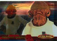 2001 TOPPS STAR WARS EVOLUTION - PICK / CHOOSE YOUR CARDS