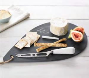 Davis & Waddell- Waterdrop  Slate -Cheese Board/ Platter - Great Teacher's Gift