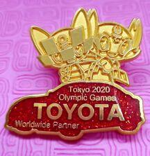 Toyota Tokyo 2020 olympic mascot pin