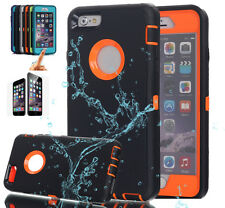 Hybrid Shockproof Full Body Protect Hard Case Cover For iPhone X 8 7 6S Plus 6