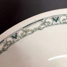 "Scammells Trenton China Oval Bowl 12"" Vtg Restaurant Ware Serving Dish"