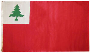 3x5 New England Red 3'x5' Premium Quality Heavy Duty 100D Polyester Flag (RUF)