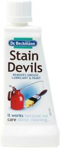 Dr Beckmann Stain Devils Grease Lubricant & Paint Stain Remover 50ml - 6564
