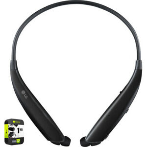 LG Ultra Bluetooth Neckband Headset Black with 1 Year Extended Warranty