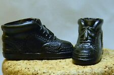 """Barbie Doll Family Ken Black Sneakers 1.75"""" Long F1"""