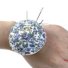 1Pc Ball Shaped DIY Craft Needle Pin Cushion Holder Sewing Kit Pincushions CRIT