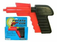 Toy Gun Pistol Retro Potato Spud Gun XMAS Gift For Kids Child Boy - Safe Gun