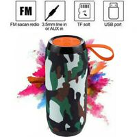 LOUD Wireless Bluetooth Portable Speaker Stereo Bass w/ USB/TF/FM Rechargeable