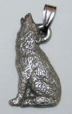 Wolf Harris Fine Pewter Pendant Usa Made