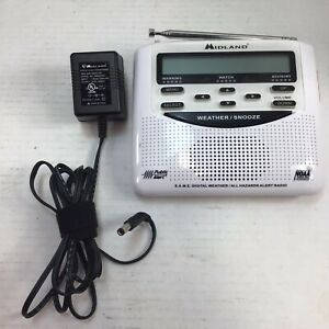 Midland WR-120 Weather Alert Radio w/ Plug Free Shipping