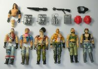 Lot 1980s GI Joe Cobra Dreadnok Figure Accessory Set Part Piece Repair Zartan