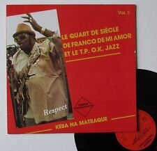 "LP Franco et le T.P. O.K. Jazz  "" Keba na matraque - vol.1"""