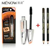 3pcs/set Menow Brand Waterproof Mascara Volume Express 3D Makeup With Black E4J3