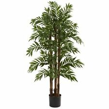 Nearly Natural 5405 Parlor Palm Tree- 4-Feet- Green