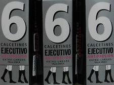 9 pares calcetines EJECUTIVO (Berkshire) largos puño relax 40 deniers. surtidos