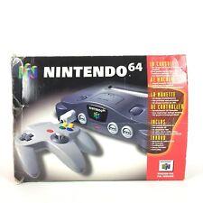 Console Nintendo 64 + Boite + Expansion Pack + 2 Manettes Officielle N64