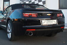 FMS 76mm Duplex escape deportivo Chevrolet Camaro BJ Convertible 2011-09/2013