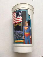 VINTAGE 1987 SUPERMAN IV 7/11 SLURPEE CUP - #1 (SUPERMAN) - FREE SHIPPING